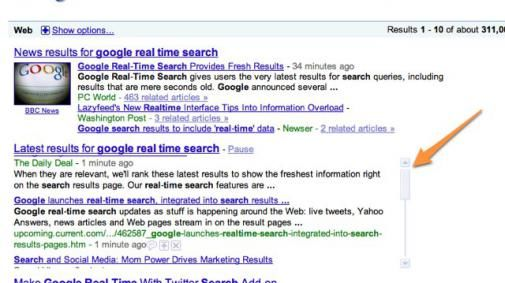Breaking: Google komt met revolutionaire real time search