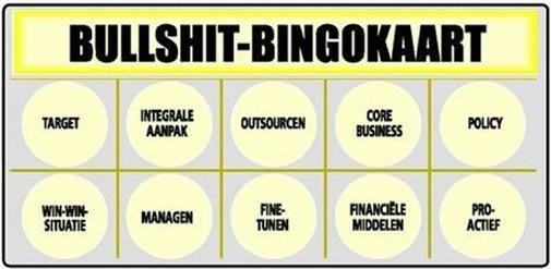 Bullshit en Buzzword Bingo 2.0