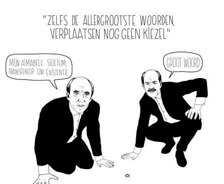 Cartoonist Hans Glock is 'Grootste Taalvirtuoos van Nederland'
