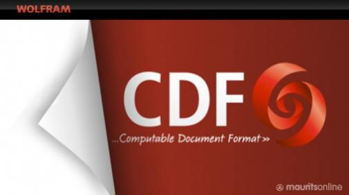 CDF = Computable Document Format