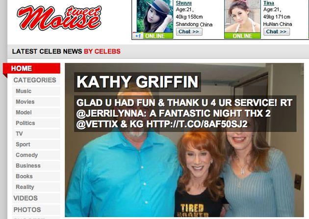 Celebrity gossip op Tweetmouse.com