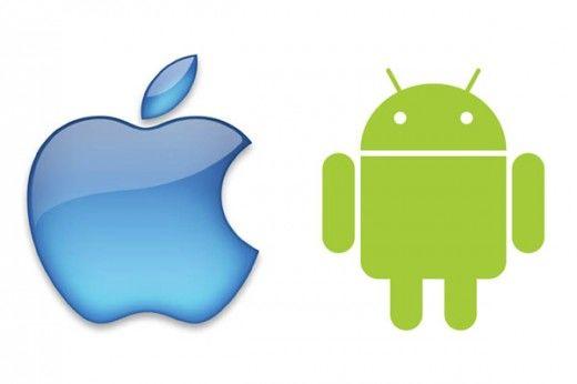 CEO's Google en Apple in gesprek over patenten