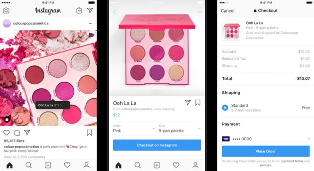 Checkout-instagram