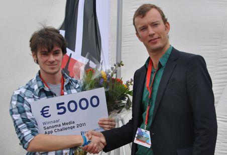 'Checkwish' winnaar van de Sanoma Media App Challenge