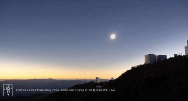 Chile full Eclipse
