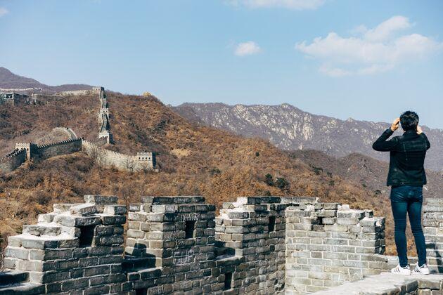 Chinese muur ruimte