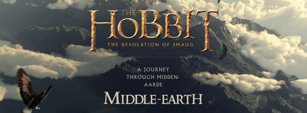 Chrome Experiment: reis door Middle Earth