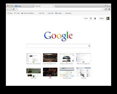 Chromium Blog new start page
