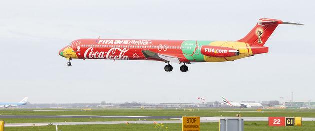 Coca-Cola brengt Nederland in beweging: FIFA World Cup Trophy Tour