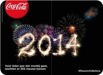 Coca-Cola: Nederlandse jongeren optimistischer over 2014