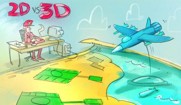 Column: 2D'er brengt diepte in een 3D-productie