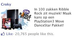 Croky Facebook ads