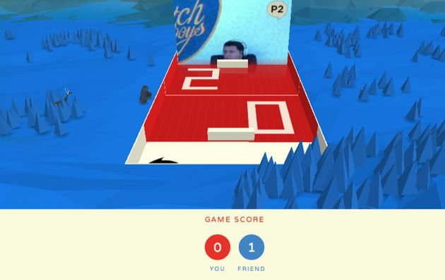 Cube Slam, Google's nieuwe experimentele Chrome Game