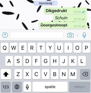cursief-whatsapp