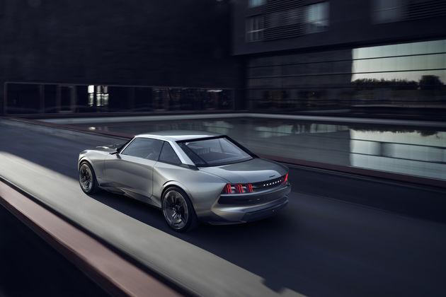 De Peugeot E-Legend Concept: Unboring the Future