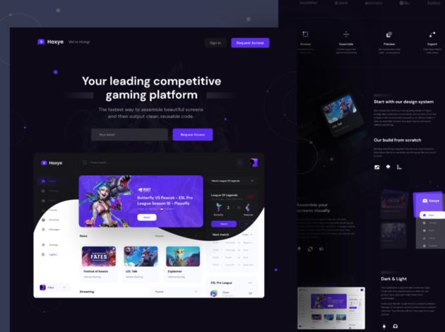 Darkmode website