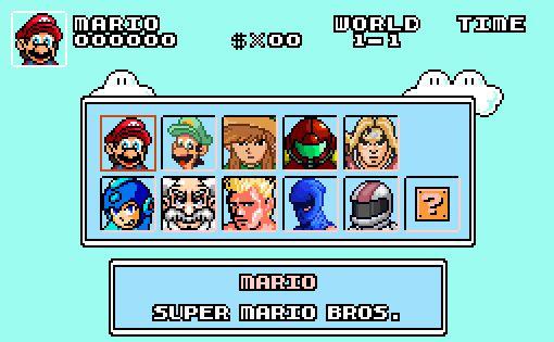 De beste game mashup ooit: Super Mario Bros. Crossover 2.0