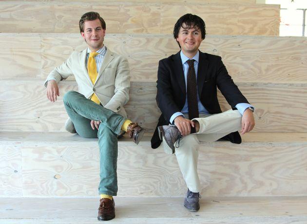De beste jonge ondernemers van 2012: Bernd Damme en Steijn Pelle