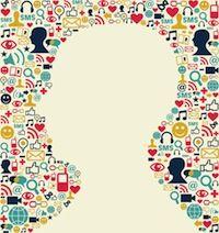 De digitale betrokkenheid van mensen [Infographic[
