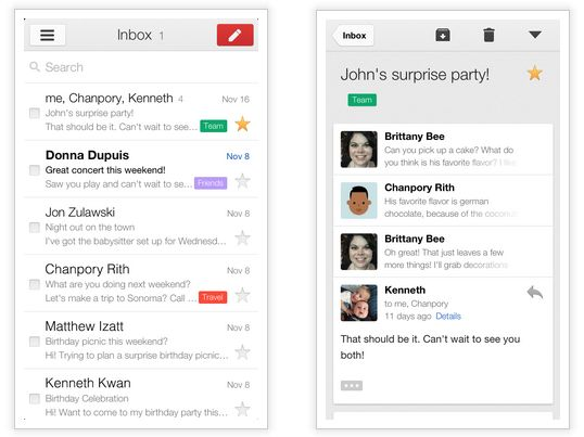 De Gmail 2.0 app voor iPhone en iPad