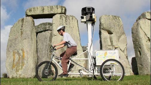 De Google Street View Trike