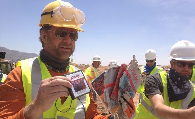 De legende klopt: 'honderden' E.T. Cartridges gevonden in stortplaats New Mexico