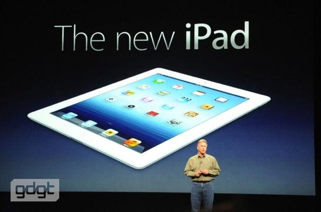 De nieuwe iPad heeft een Retina display, A5X processor en een iSight camera