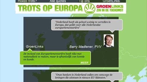 De (on)zin van Europa verzameld op trotsopeuropa.eu