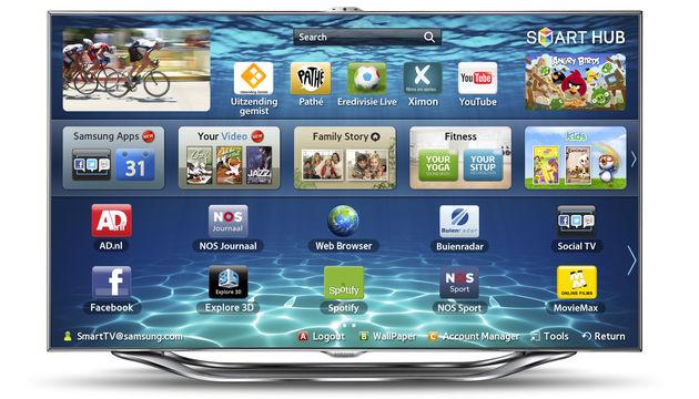 De Samsung Smart TV heeft het meest complete entertainmentaanbod