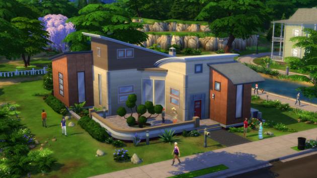De sims 4 huis