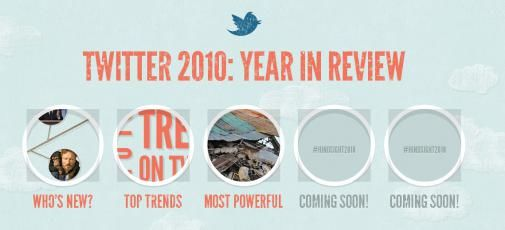 De top 10 meest krachtige Tweets van 2010