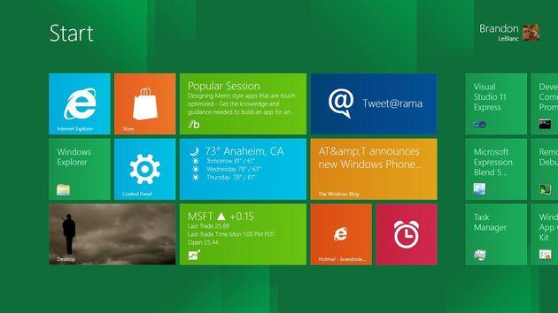 De verschillende Windows 8-smaken
