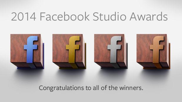 De winnaars van de Facebook Studio Awards 2014