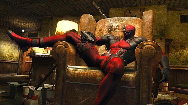 Deadpool: Iets teveel LOL Random