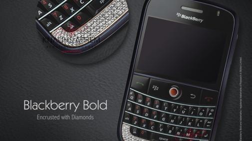 Diamante Blackberry Bold en N8800