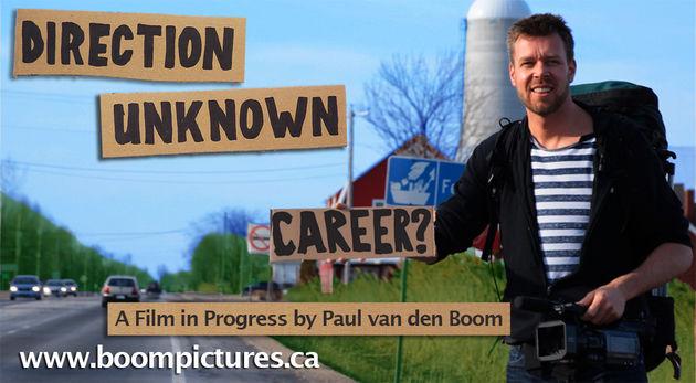 Direction Unknown; een documentaire project over de hedendaagse wijdverspreide carrière crisis