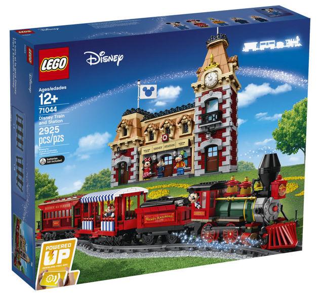 Disney LEGO trein station