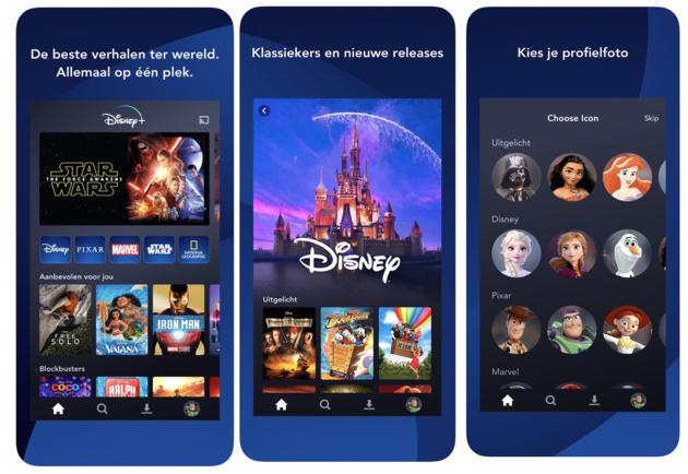 Disney Plus Nederland proef