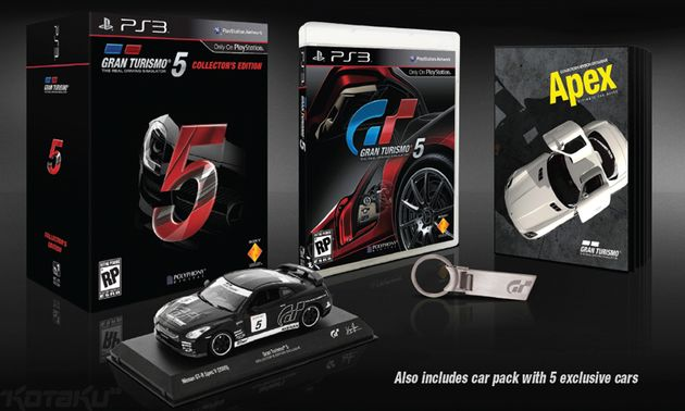 Dit is de Limited Edition van Gran Turismo 5...