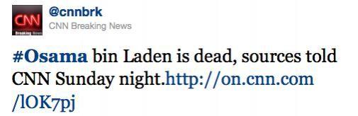 Dood Osama Bin Laden overspoelt Sociale Media