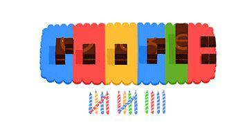 Doodle: 14 jaar Google