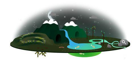 Doodle voor Earth Day 2013
