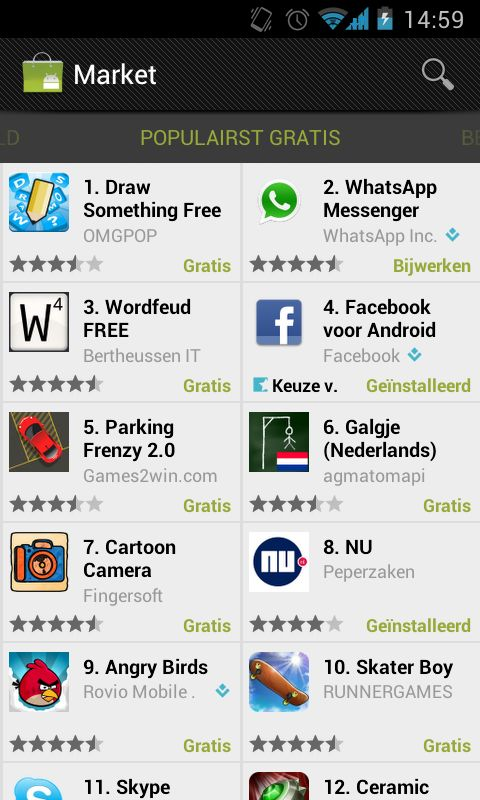Draw Something populair alternatief voor Wordfeud-addicts
