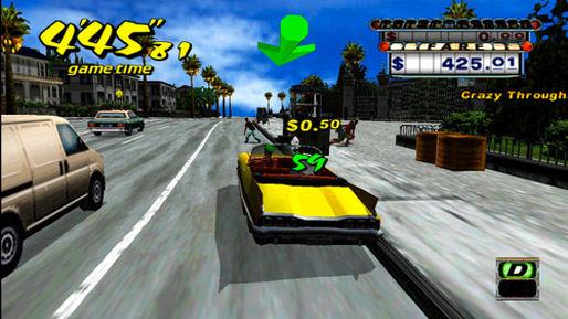 Dreamcast games komen; Crazy Taxi, Sonic Adventure eerst