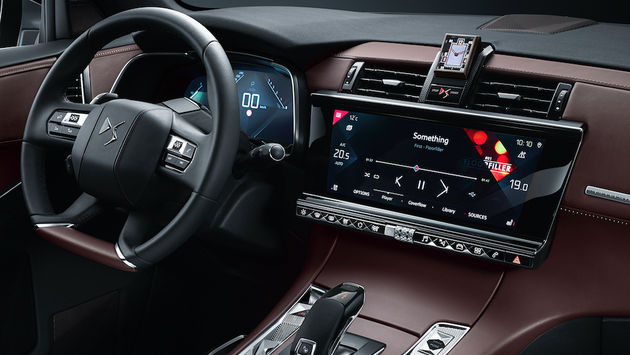 DS7 Crossback 12-inch display
