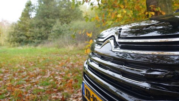 Citroen logo voorkant C5 Aircross SUV