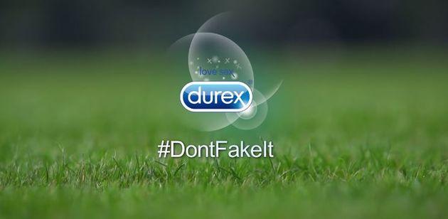Durex don't fake it WK inhaker