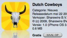 DutchCowboys iPhone App Live !!!