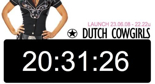 DutchCowgirls countdown