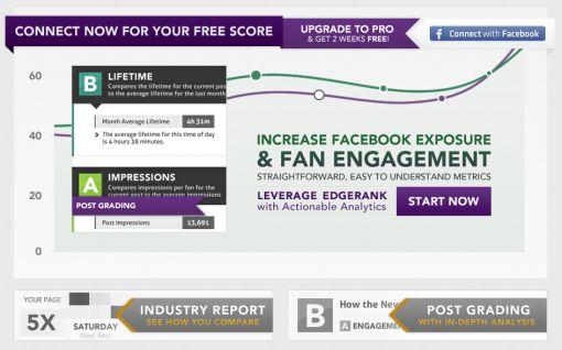 EdgeRank Checker - Check your Facebook Page's EdgeRank
